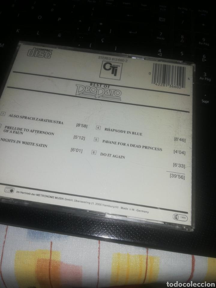 CDs de Música: cd Deodato* – Best Of Deodato - Foto 2 - 207275486
