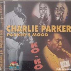 CDs de Música: CHARLIE PARKER 'PARKER'S MOOD'. Lote 207278411