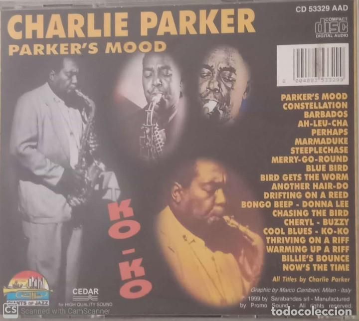 CDs de Música: Charlie Parker Parkers Mood - Foto 2 - 207278411