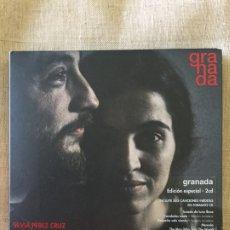 CDs de Música: GRANADA- SILVIA PÉREZ CRUZ Y RAUL FERNÁNDEZ MIRÓ-EDICIÓN ESPECIAL LIMITADA 2014 2 CDS.. Lote 207279900