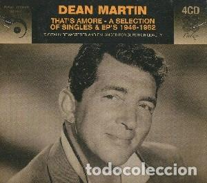 THAT'S AMORE - A SELECTION OF SINGLES & EP'S 1946-1962 (4 CDS) MÚSICA INTERPRETADA POR DEAN MARTIN (Música - CD's Jazz, Blues, Soul y Gospel)