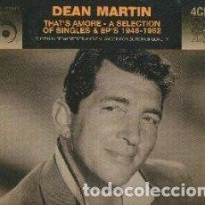 CDs de Música: THAT'S AMORE - A SELECTION OF SINGLES & EP'S 1946-1962 (4 CDS) MÚSICA INTERPRETADA POR DEAN MARTIN. Lote 207280922