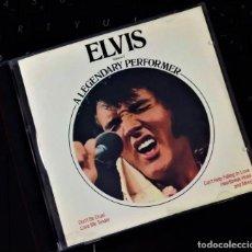 CDs de Música: ELVIS PRESLEY - A LEGENDARY PERFORMER VOLUME 1 - CD / CANADA 1989. Lote 206982892