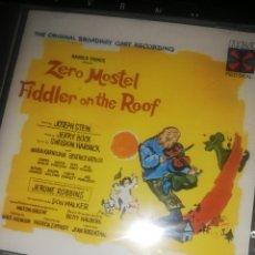 CDs de Música: CD FIDDLER ON THE ROOF (THE ORIGINAL BROADWAY CAST RECORDING). Lote 207291683