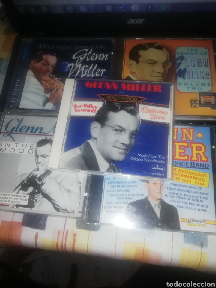 GLENN MILLER 5 CD´S (Música - CD's Jazz, Blues, Soul y Gospel)