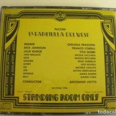 CD de Música: ANTONINO VOTTO LA FANCIULLA DEL WEST 2 CDS. Lote 207293010