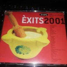 CDs de Música: ÊXITS 2001 3 CD´S ROCK POP CATALÀ. Lote 207287497