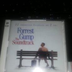 CDs de Música: FORREST GUMP THE SOUNDTRACK / 32 AMERICAN CLASSICS ON 2 CDS. Lote 207290836