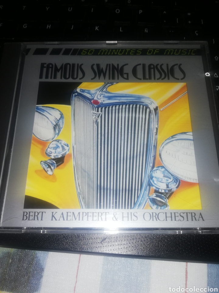 CD BERT KAEMPFERT & HIS ORCHESTRA – FAMOUS SWING CLASSICS (Música - CD's Jazz, Blues, Soul y Gospel)
