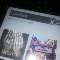 CDs de Música: FAITHLESS 2 X 1, 2 CD. Lote 207294575