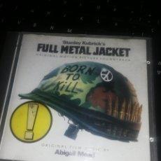 CDs de Música: CD FULL METAL JACKET. Lote 207294611