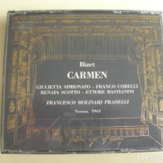 CD de Música: FRANCESCO MOLINARI PRADELLI CARMEN 2 CDS. Lote 207300710