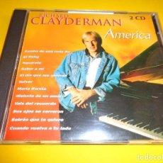 CDs de Música: RICHARD CLAYDERMAN / AMERICA / PIANO / DELPHINE PRODUCTIONS / PDI RECORDS / 2 CD. Lote 207301978