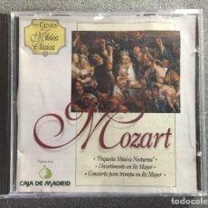 CDs de Música: LOS GENIOS DE LA MÚSICA CLÁSICA CD Nº 21 MOZART. Lote 207303856