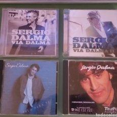 CDs de Música: SERGIO DALMA LOTE 4 CD VIA DALMA 1 Y 2 ,SOLO PARA TÍ Y PROMO TELEPIZZA + 5 € ENVIO C.N. Lote 207304060