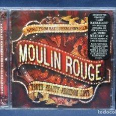 CDs de Música: MOULIN ROUGE - BANDA SONORA - CD. Lote 207314647