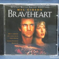 CDs de Música: BRAVEHEART - BANDA SONORA - CD. Lote 207314752