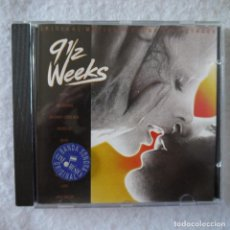 CDs de Música: BSO 9 1/2 WEEKS / 9 SEMANAS Y MEDIA - CD 1986. Lote 207323181