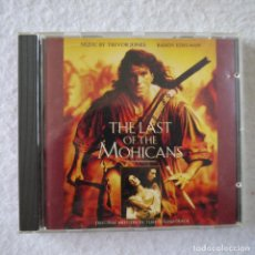 CDs de Música: BSO THE LAST OF THE MOHICANS / EL ÚLTIMO MOHICANO - CD 1992. Lote 207324001
