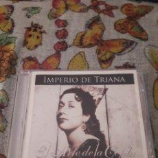 CDs de Música: IMPERIO DE TRIANA. EL ARTE DE LA COPLA. EDICION DE 2015.. Lote 207333063