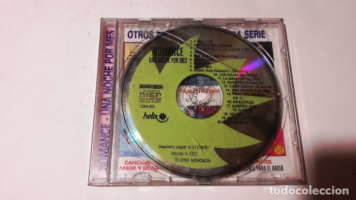CD ROMANCES - 2 CD'S - AÑOS 2000-2001 (Música - CD's Melódica )