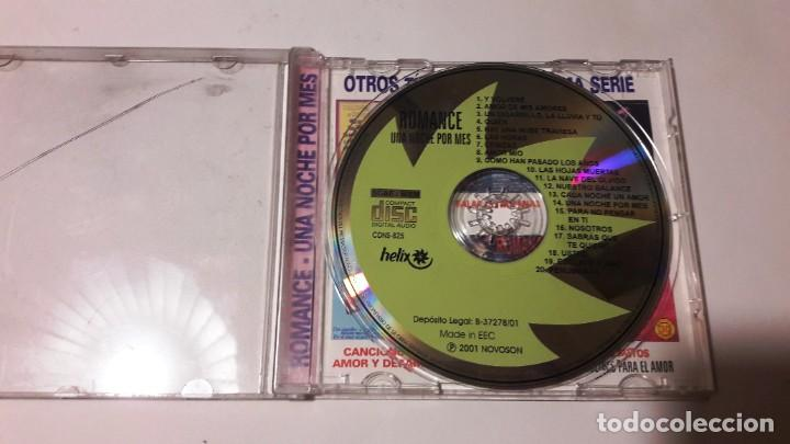 CDs de Música: CD ROMANCES - 2 CDS - AÑOS 2000-2001 - Foto 2 - 207345500