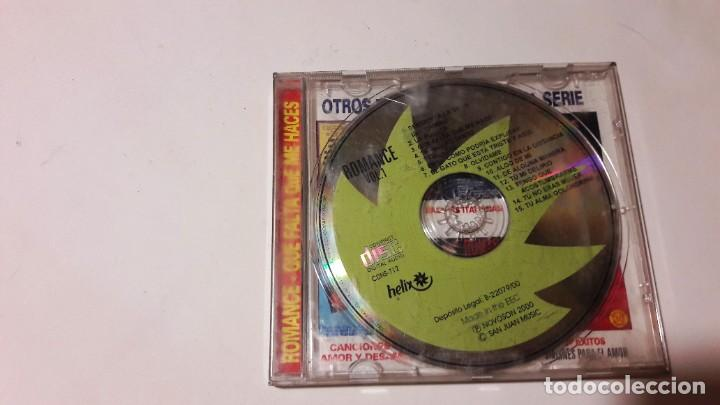 CDs de Música: CD ROMANCES - 2 CDS - AÑOS 2000-2001 - Foto 4 - 207345500