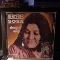 CDs de Música: MERCEDES SOSA. AMIGOS MÍOS.. Lote 207352146