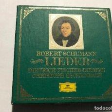 CDs de Música: ROBERT SCHUMANN - LIEDER / DIETRICH FISCHER DISKAU - ESCHENBACH CAJA CON 6 CDS CD CLASICA. Lote 207353310