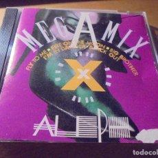 CDs de Música: RAR CD. ALEPH. MEGAMIX. MADE IN ITALY. ITALO DISCO. Lote 207354060