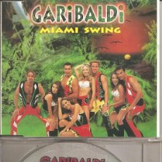 CDs de Musique: GARIBALDI - MIAMI SWING (CDSINGLE CAJA, DISCOS HOME 1996). Lote 207365395