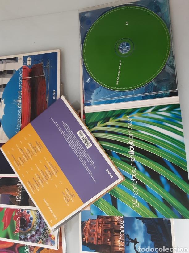 CDs de Música: 11 cd. Coleccion chillout grroves - Foto 2 - 207375733