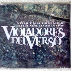 CDs de Música: VIOLADORES DEL VERSO.VIVIR PARA CONTARLO/HACIENDO LO NUESTRO..MAXI 6 CORTES..PRECINTADO. Lote 207381306