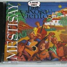 CDs de Música: MESTISAY, LA ROSA DE LOS VIENTOS, CD NUBENEGRA, 1996. Lote 207414655