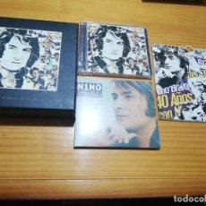 CDs de Música: EDICIÓN ESPECIAL 40 AÑOS CON NINO BRAVO CAJA DELUXE. Lote 207436181