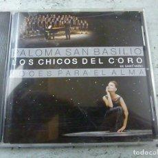 CDs de Musique: PALOMA SAN BASILIO - LOS CHICOS DEL CORO DE SAINT MARC - VOCES PARA EL ALMA - C 3. Lote 220262923