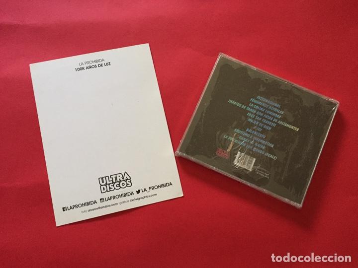 CDs de Música: LA PROHIBIDA 100K AÑOS LUZ NUEVO PRECINTADO MÁS POSTAL OFICIAL - Foto 2 - 207498932