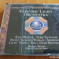 CDs de Música: ELECTRIC LIGHT ORCHESTRA. PART II. 2 CD. DEJAVU RETRO GOLD COLLECTION.. Lote 207525590
