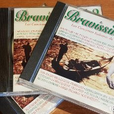 CDs de Música: BRAVÍSSIMO 2 / LAS CANCIONES ITALIANAS DE TU VIDA / TRIPLE CD-DIVUCSA / 48 TEMAS / DE LUJO.. Lote 207547142