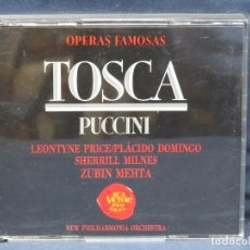 CD di Musica: PUCCINI - TOSCA - OPERAS FAMOSAS - 2 CD. Lote 207547220