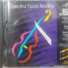 CDs de Música: JUAN JOSÉ FALCÓN SANABRIA - FESTIVAL DE MÚSICA DE CANARIAS - 1993 - GOFIO RECORDS. Lote 207620213