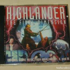 CDs de Música: HIGHLANDER: THE FINAL DIMENSION / MICHAEL KAMEN, STEWART COPELAND / J. PETER ROBINSON CD BSO. Lote 207629073