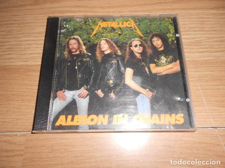 METALLICA - ALBION IN CHAINS PART TWO / LIVE AT WEMBLEY EMPIRE POOL, LONDON 24-10-1992 VOLUME 2 - CD (Música - CD's Heavy Metal)