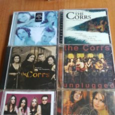CDs de Música: LOTE 6 CD THE CORRS TALK ON CORNERS, FORGIVEN NOT FORGOTTEN, UMPLUGGED, IN BLUE, EDICION ESPECIAL... Lote 207681331