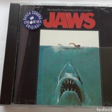 CDs de Música: JAWS / BSO ORIGINAL / BANDA SONORA ORIGINAL DE LA PELÍCULA TIBURÓN / CD ORIGINAL. Lote 207683680