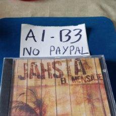 CDs de Música: CD PRECINTADO JAHSTA EL MENSAJE. Lote 207686382