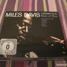 CDs de Música: CD MILES DAVIS KIND OF BLUE AT 50 2 CD´S + DVD + LIBRETO JAZZ. Lote 207696561