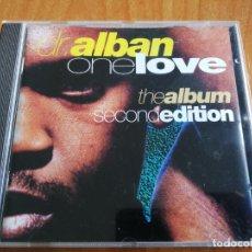 CDs de Música: DR. ALBAN ONE LOVE THE ALBUM SECOND EDITION. Lote 207701402