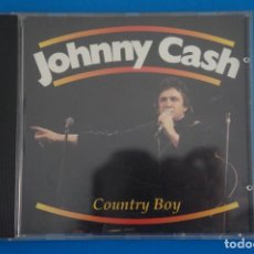 CDs de Música: CD DE MUSICA JOHNNY CASH COUNTRY BOY AÑO 1990 VER FOTOS HAZTE CON EL. Lote 207724573