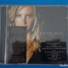CDs de Música: CD DE MUSICA FAITH HILL CRY AÑO 2002 VER FOTOS HAZTE CON EL. Lote 207724756